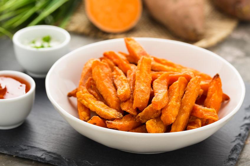 Süßkartoffelfritten