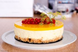Low Carb Mango Cheesecake