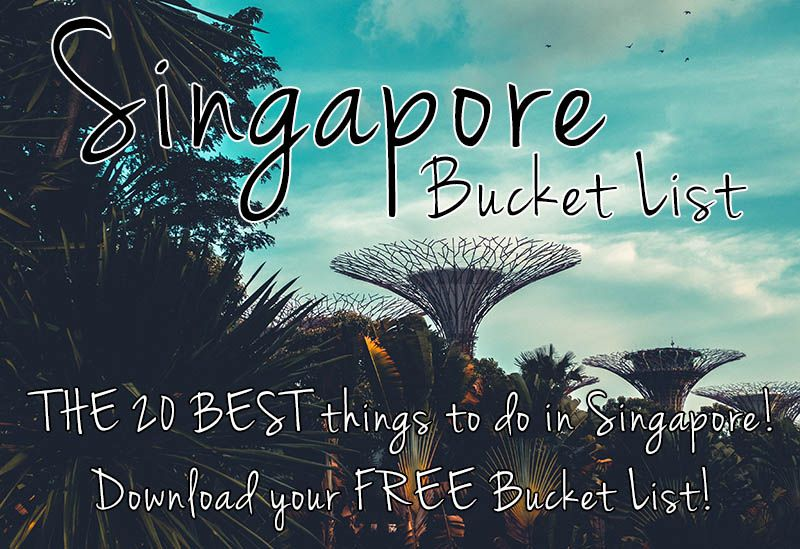 Singapore Bucket List