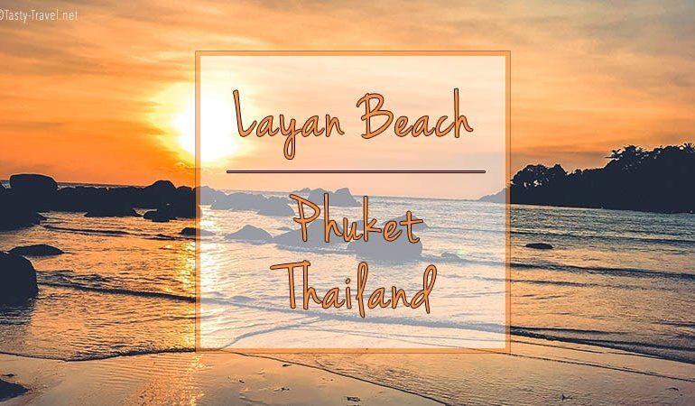 Lacan beach Thailand Phuket